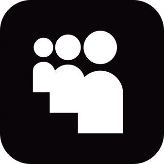 Myspace social little square