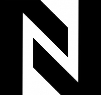 N formed by two angles