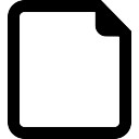 New document button