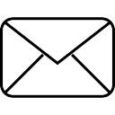 New email envelope marketing tool symbol
