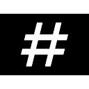 Numeral rectangular button