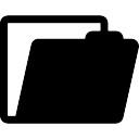 Open file button