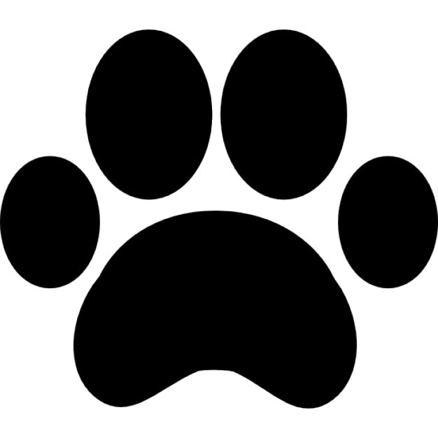 paw vectors photos and psd files free download rh freepik com dog paw print tattoo vector Dog Paw Print Stencil