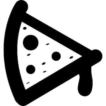 Pizza cartoon variant