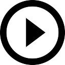 円の内側のボタンを再生