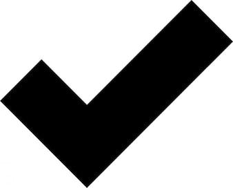 Positive check mark