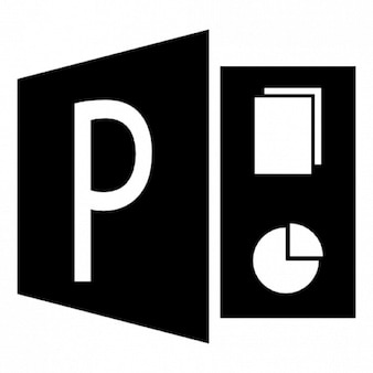 Powerpoint file symbol Icons | Free Download