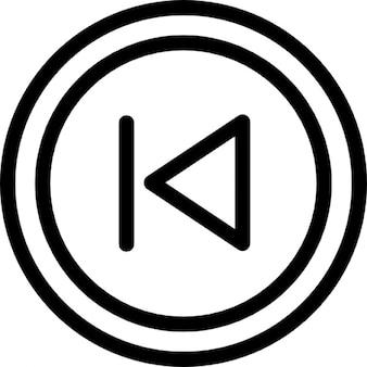 Previous chapter arrow button