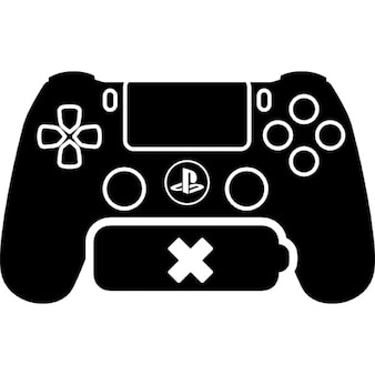 Ps4 game control with no battery