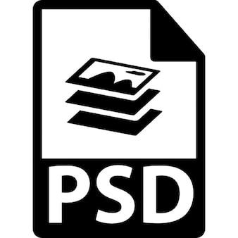 PSD file format variant
