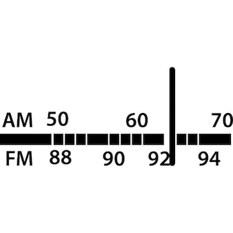 Radio AM and FM tuner