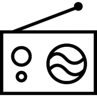Radio, IOS 7 interface symbol