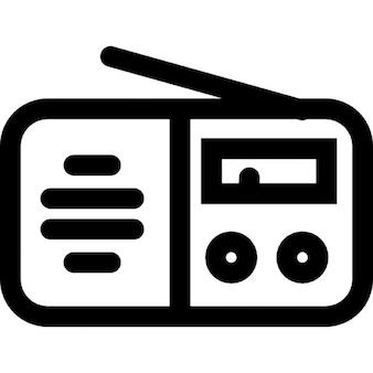 Radio outline