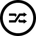 ランダム円形ボタン