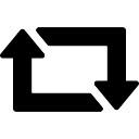 Retweet arrows