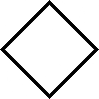 Rhomb outline
