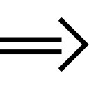 Right arrow variant