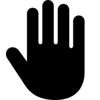 Right hand Free Icon
