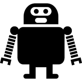 Robot of long arms and short legs