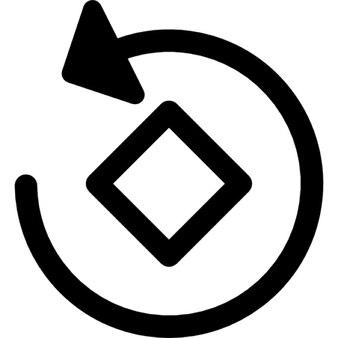 Rotating instagram tool symbol