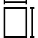 Shape size interface symbol