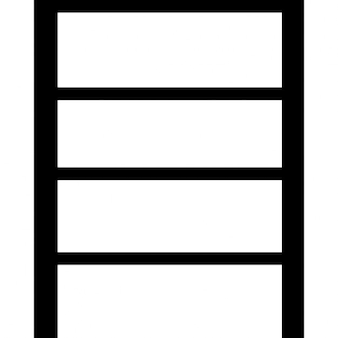 Shelves empty
