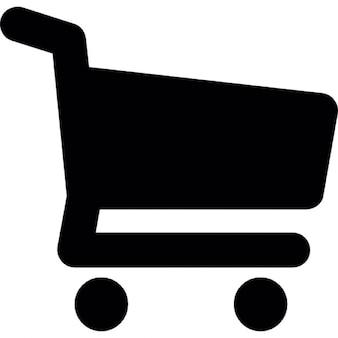 Shopping cart wheel