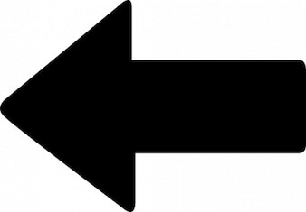 Simple arrow point to left