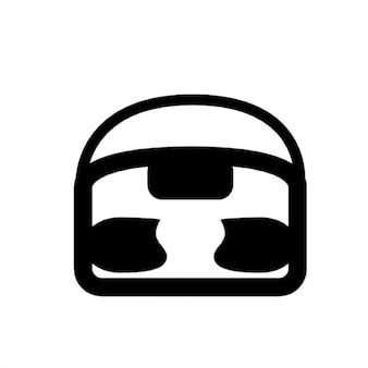 Simple tape player icon