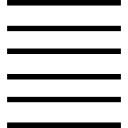 Six horizontal lines