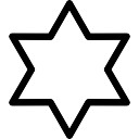 Six-pointed star