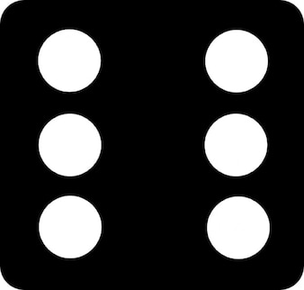 Six result of dice