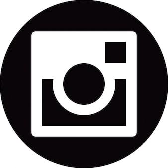 Social instagram circle