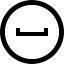 Social myspace in circular button