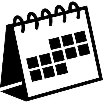 Spring desktop calendar variant