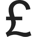 Sterling Pound Sign Of Money Icons Free Download