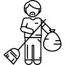 Sweeper Working