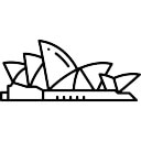 how to draw the harbour bridge