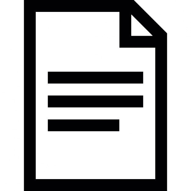 Text document page