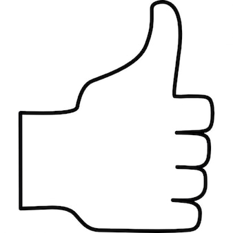 Thumbs up, like