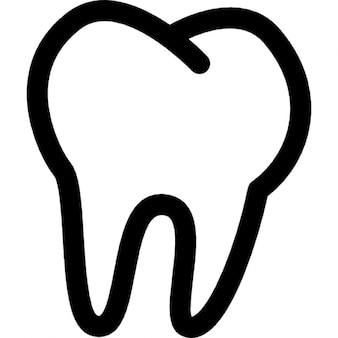 Tooth outline