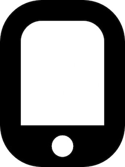 Touch phone Free Icon