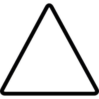 Triangle geometric shape