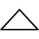 Triangle outline