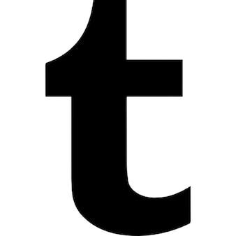 Tumblr letter logo