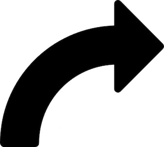 Turn right arrow