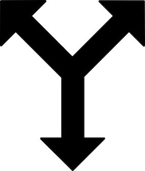Various directions signal