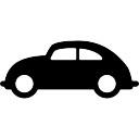 Volkswagen car side view