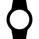 Watch with blank face