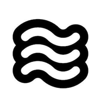 波のアウトライン
